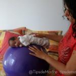 pelota pilates bebe