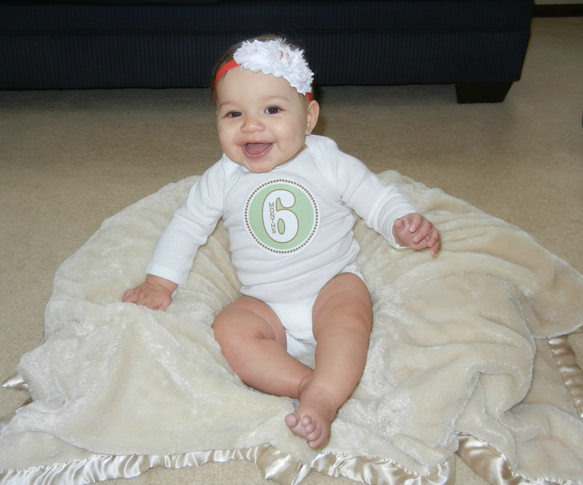 Conoce a tu beb de 6 meses en sus diferentes desarrollos - Bebe de 6 meses ...