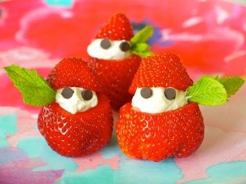comida-fresas