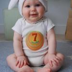 bebé de 7 meses