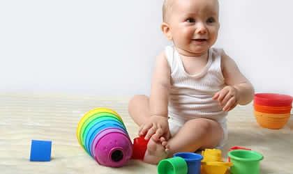 zapatos de separación 67f83 f04f7 Estimulación temprana - bebé de 7 meses