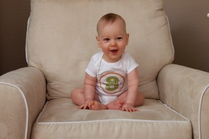 bebe 8 meses