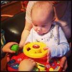 Estimulación temprana - bebé de 7 meses