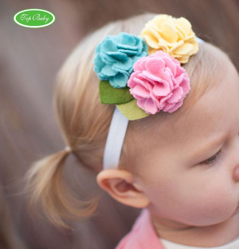 Diademas para bebes y ni as for Diademas de tela para el cabello