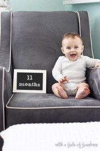 bebe 11 meses