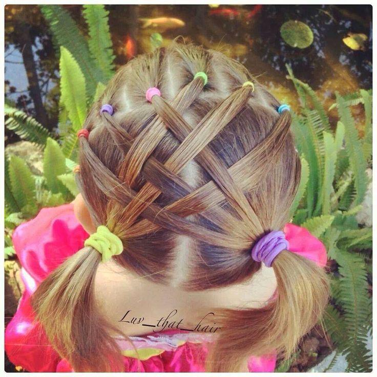 Peinados con ligas para niñas | Tips De Madre