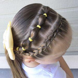 peinado ligas faciles rapido