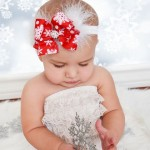 cintas y diademas para navidad