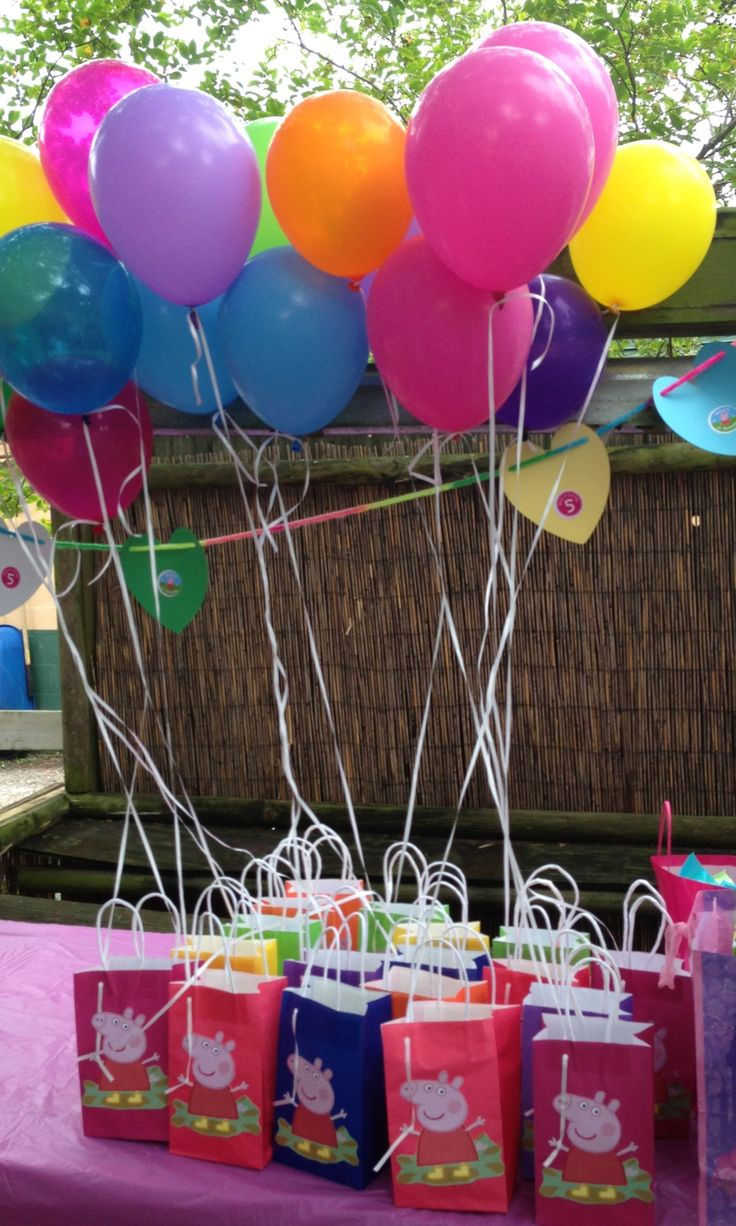 Fiesta de cumplea os de peppa pig tips de madre for Ideas originales de decoracion