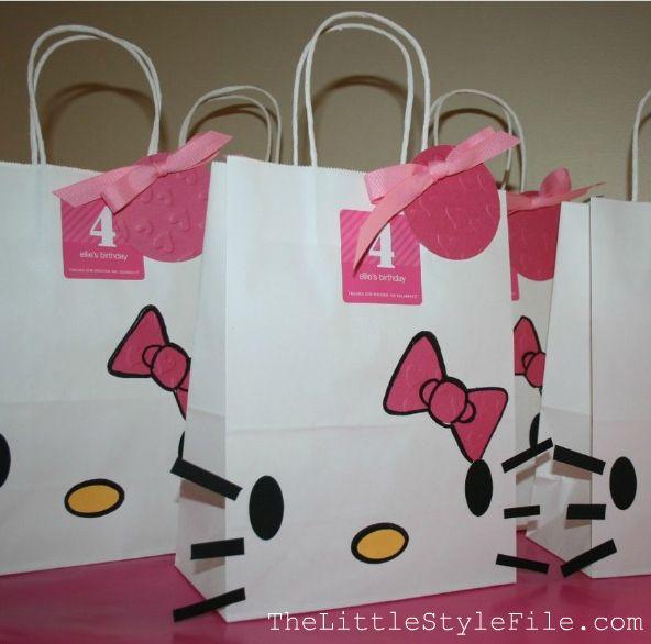 ca9cd86a8 Ideas de bolsas para fiestas infantiles | Tips De Madre