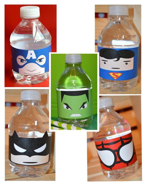 botellitas-de-agua-superheroes