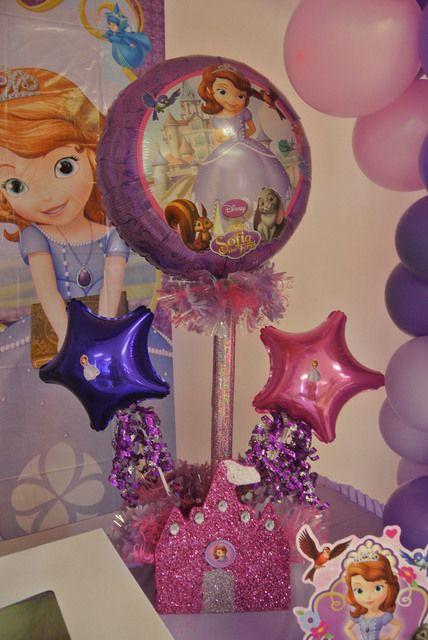 Cumplea os decorado de princesa sof a tips de madre for Donde comprar globos