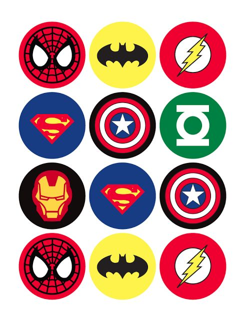 insignias-superheroes