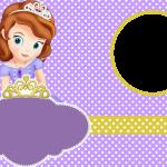 invitacion princesita sofia