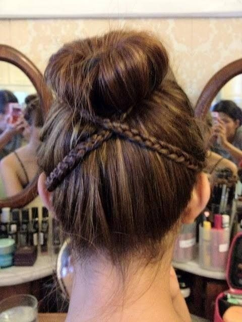 Cute Easy Hairstyles For School Dances : Chongos f?ciles para peinar a ni?as tips de madre
