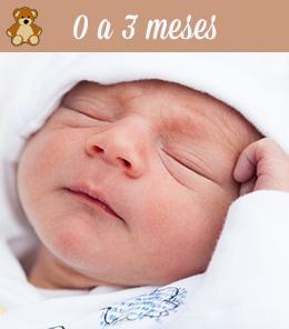 bebes de 0 a 3 meses