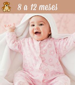 bebes de 8 a 12 meses