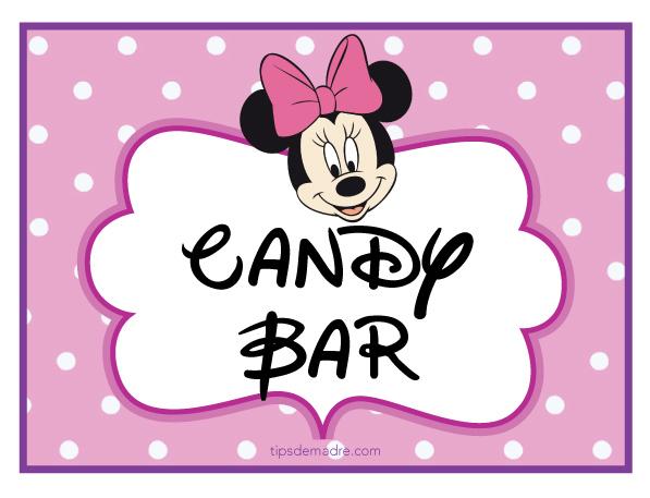 Todo para una fiesta con tema de ... ¿Minnie? ¿Mimí? ¡Como le digas ...