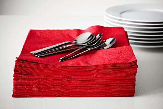 servilletas-papel-rojas