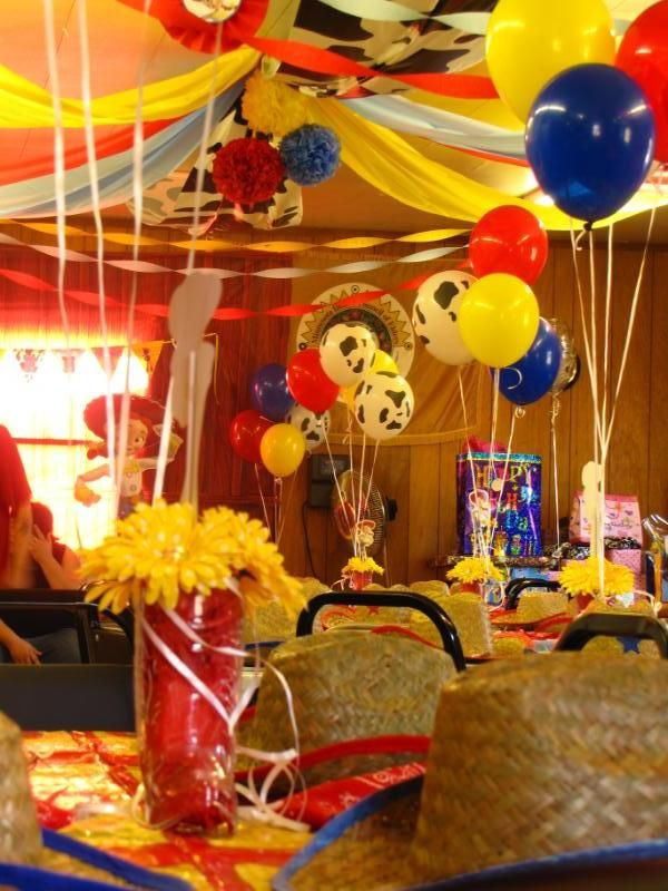 Toy Story Ideas Para Una Fiesta De Aventura Tips De Madre