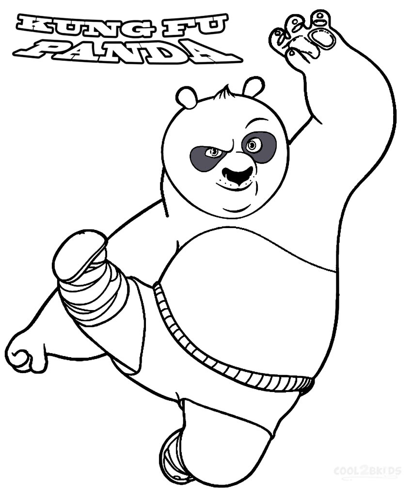 coloreable-kung-fu-panda