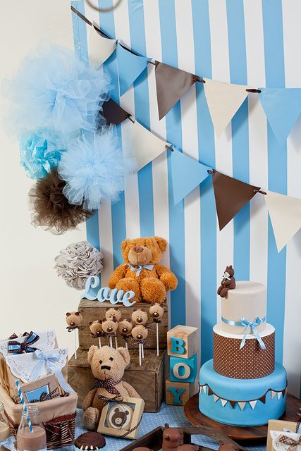 Ideas Decorativas Para Un Baby Shower Para Nio Tips De Madre