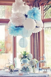 decoracion baby shower nino