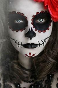 diade muertos makeup