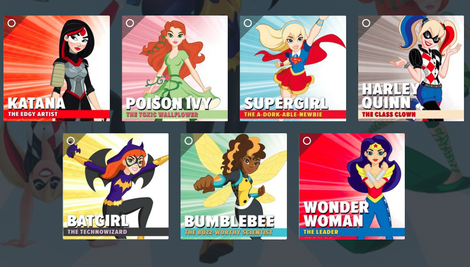 superhero-girls