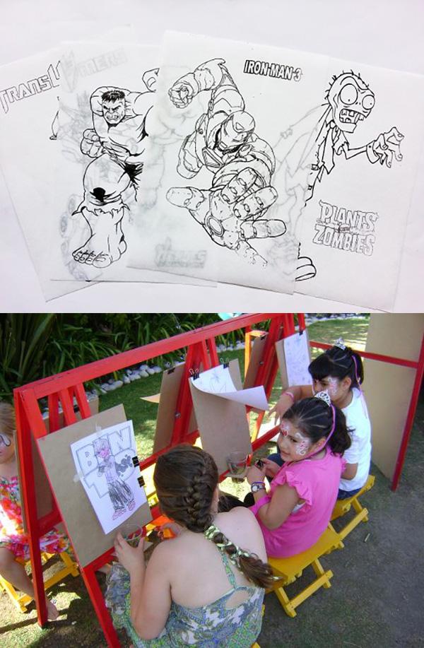 organizar-fiesta-dibujos
