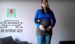 cintas bandas embarazo