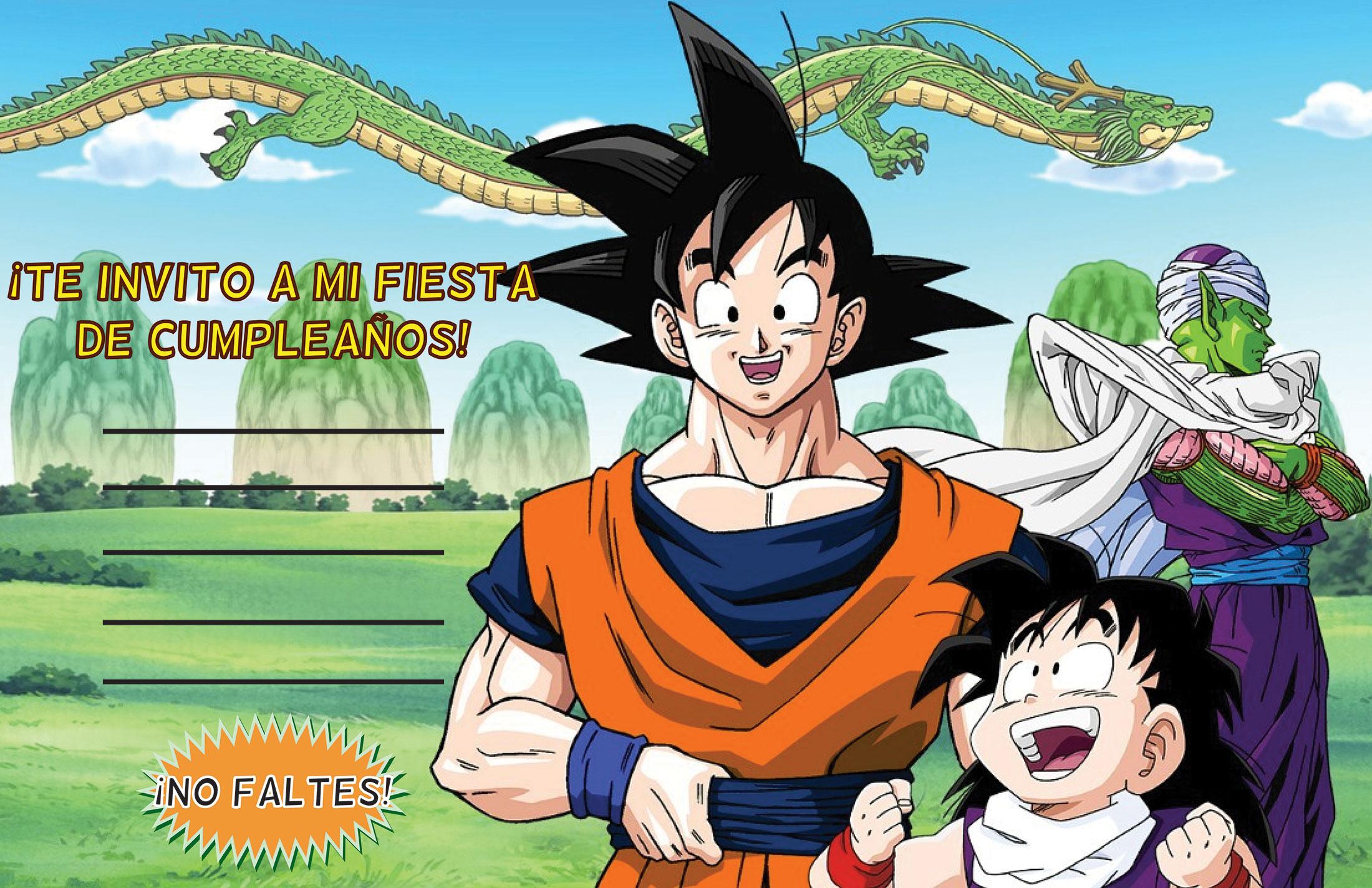Un cumple de Dragon Ball Z ¡Kame Hame Ha! | Tips de Madre®