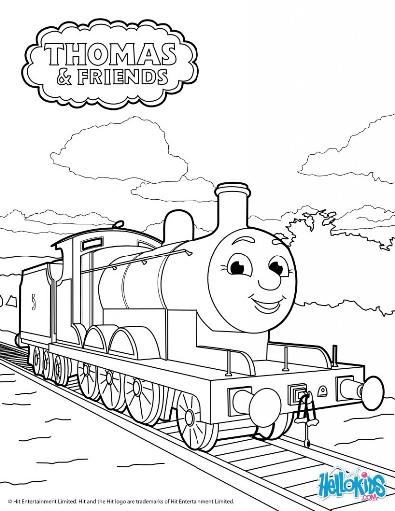 tren-thomas-colorear