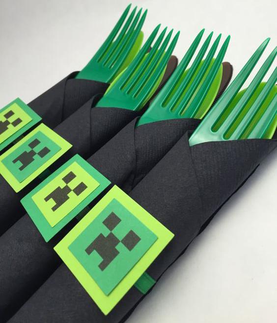 Fiesta Minecraft Cumpleanos on Craft Ideas