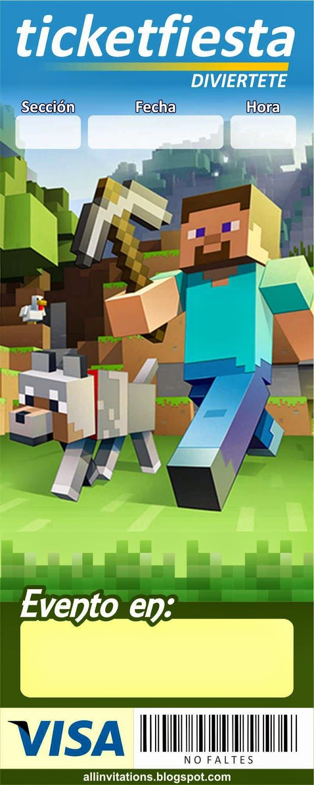 Fiesta de Minecraft - Cumpleaños infantil   Tips de Madre®