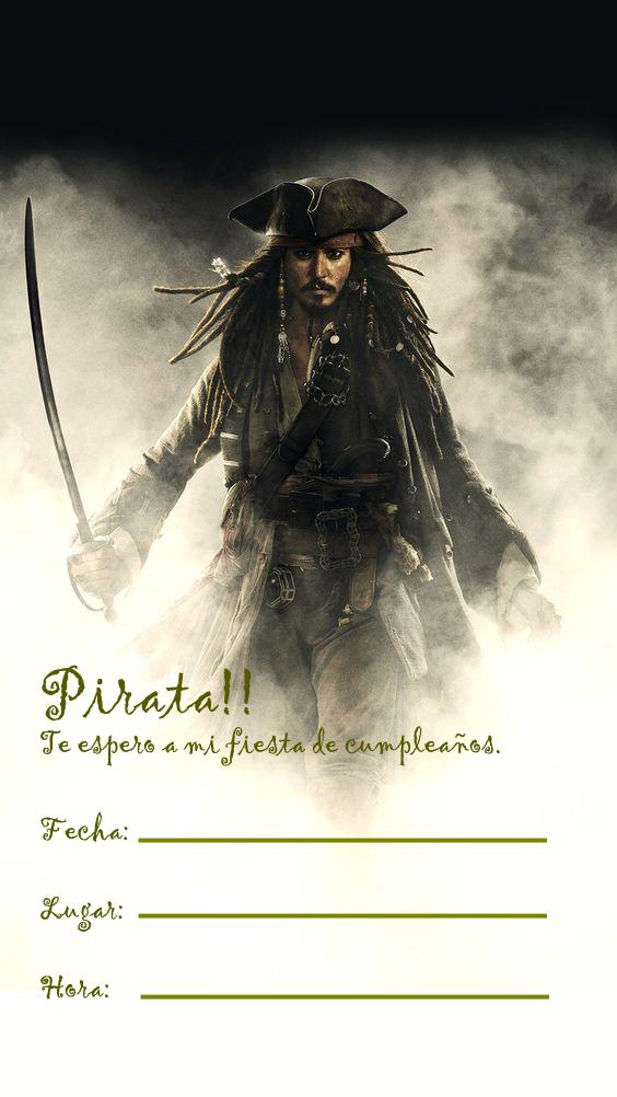 Fiesta De Cumpleaños Como Los Piratas Del Caribe Tips De
