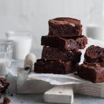 brownies integrales receta