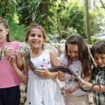 niños en Playa del Carmen