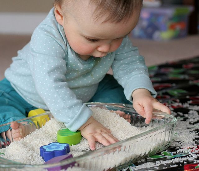 juego sensorial bebe