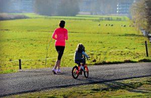 ejercicio en familia