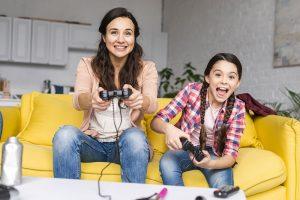 videojuegos a niños