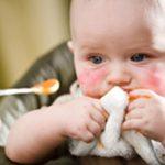 Alergias alimentarias en bebés y niños