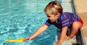 Los niños y su relación con el agua